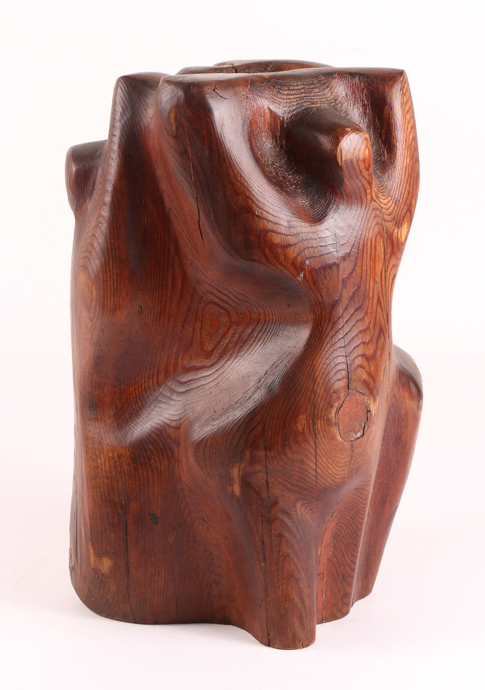 Louise Scott Wood Sculpture