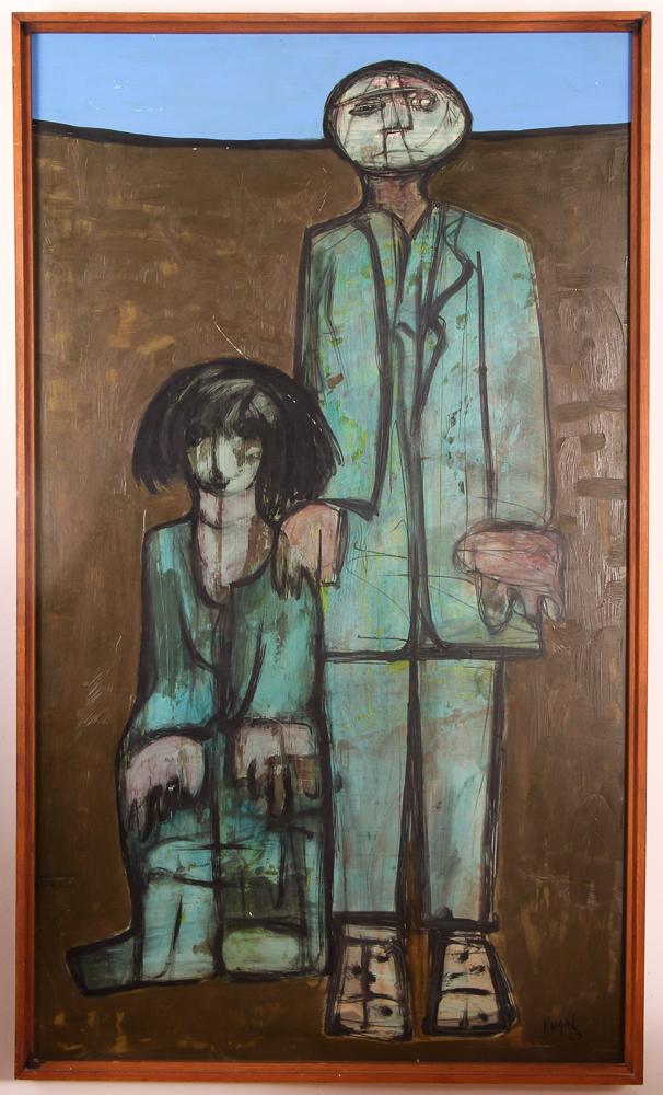 Kamal Youssef 1963 painting