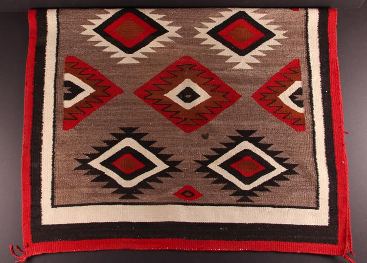 Navajo Blanket , mid 20th Century