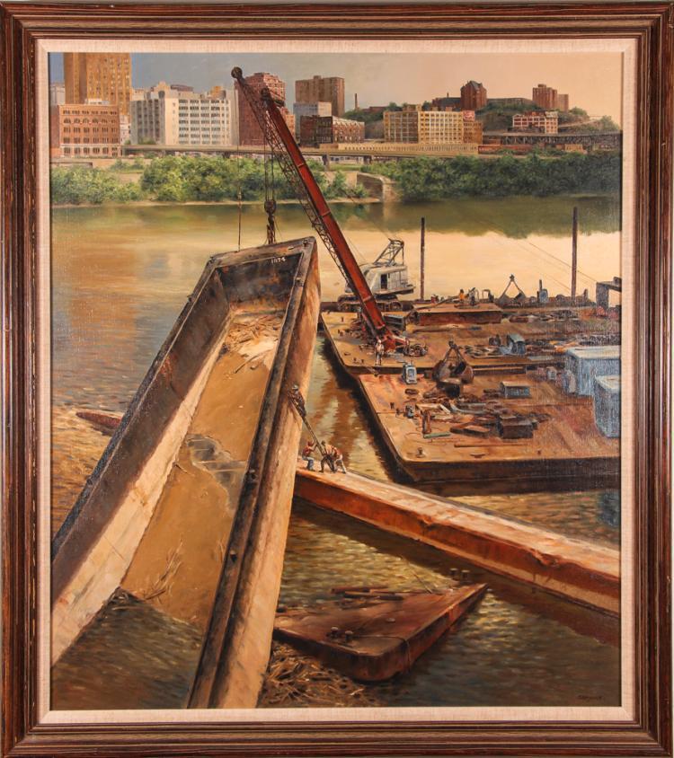 John Shryock Painting
