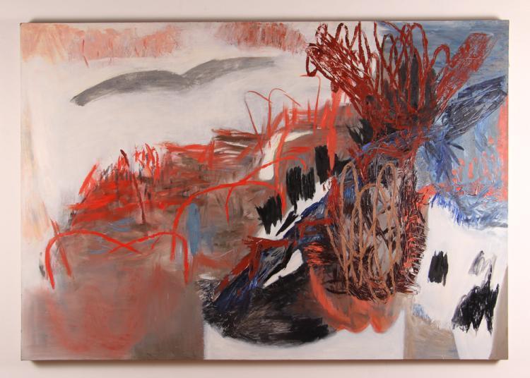 Gail van Der Lippe painting