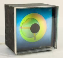 Prisma Clock by KIRSCH HAMILTON ASSOCIATES INC.