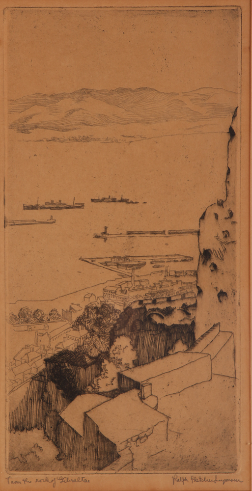 2 Ralph Seymour etchings