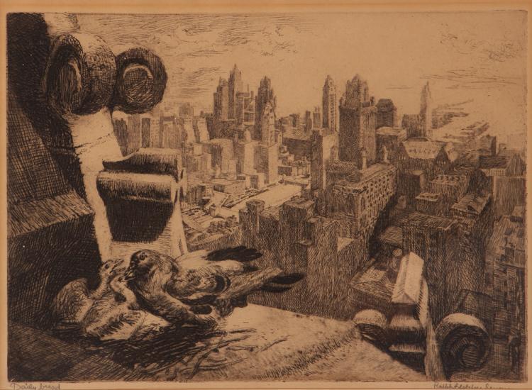 Ralph Fletcher Seymour etching