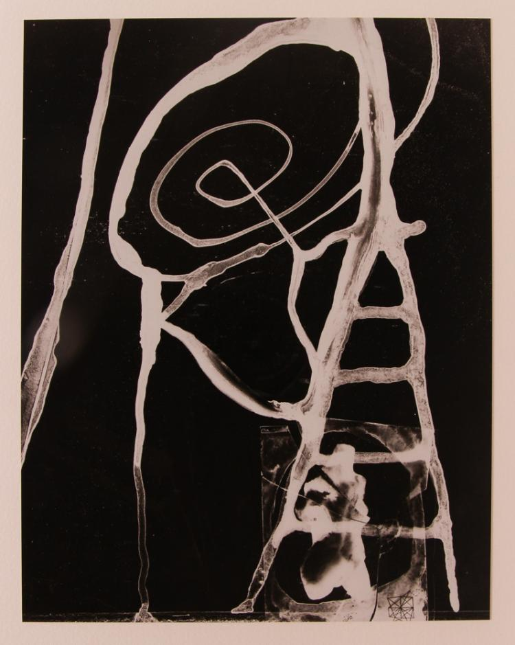Gyorgy Kepes Cliché verre print