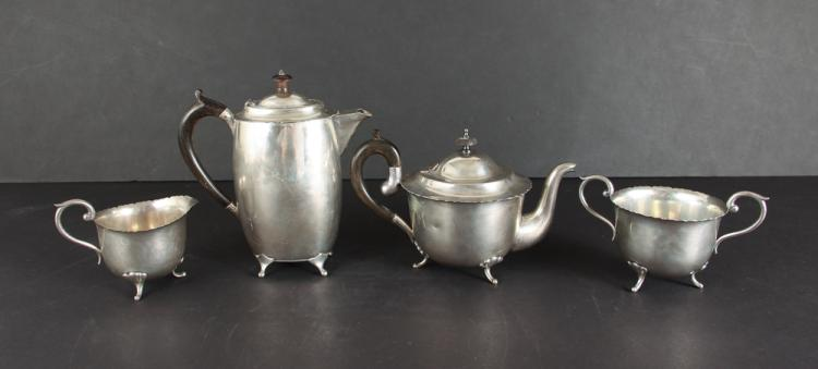 Four Piece Sterling Coffee and Tea Set