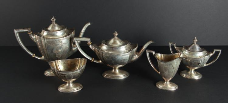 International Silver Sterling Tea Set