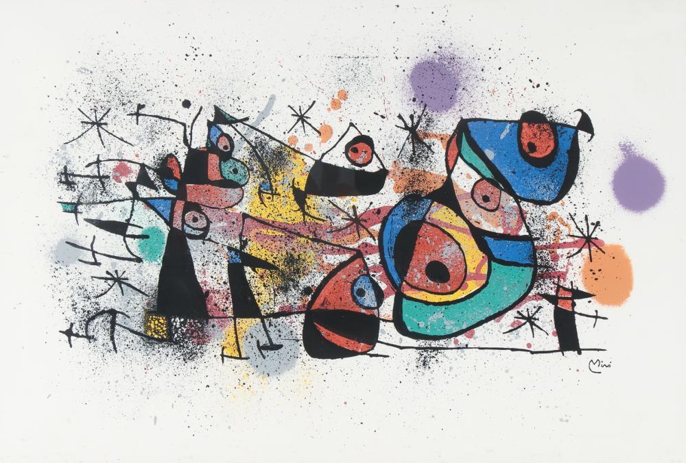 Joan Miro Lithograph Ceramiques From Ceramiques De Miro Et