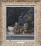Still Life with Mug Glass and Chinese Ceramic, Jacob Dooijewaard, Click for value