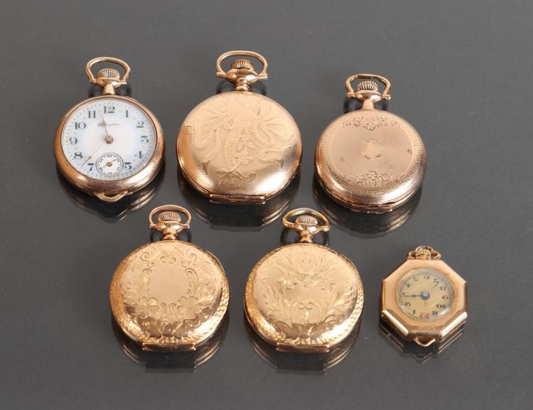 Six Ladies Pocket Watches