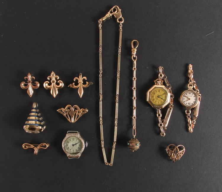 Twelve Ladies Watch and Accessory Items