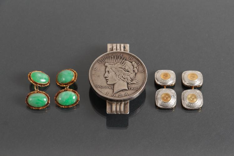 Three Pieces of Assorted Men's Jewelry