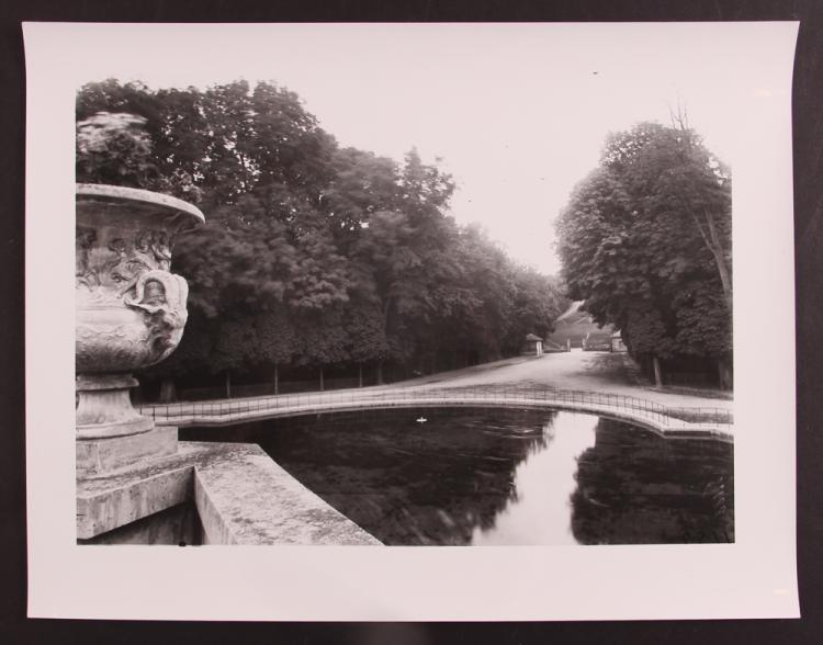 Eugene Atget gelatin silver print Pool, Versailles, c. 1905-1915