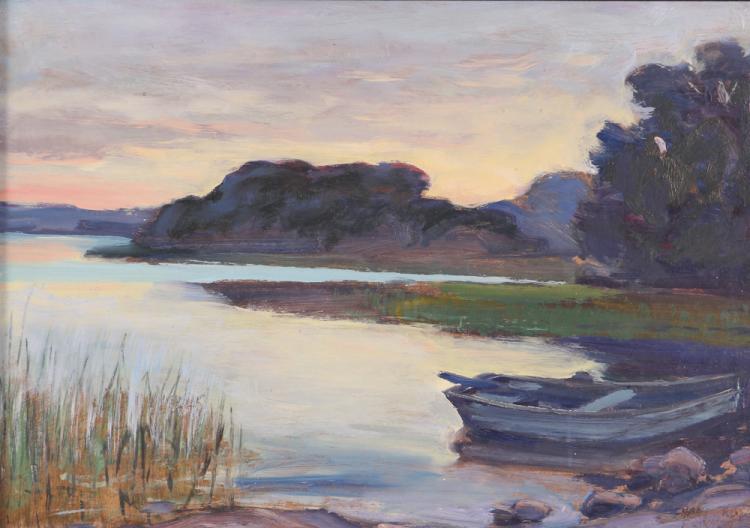 Hans Erik Eriksson Landscape Painting