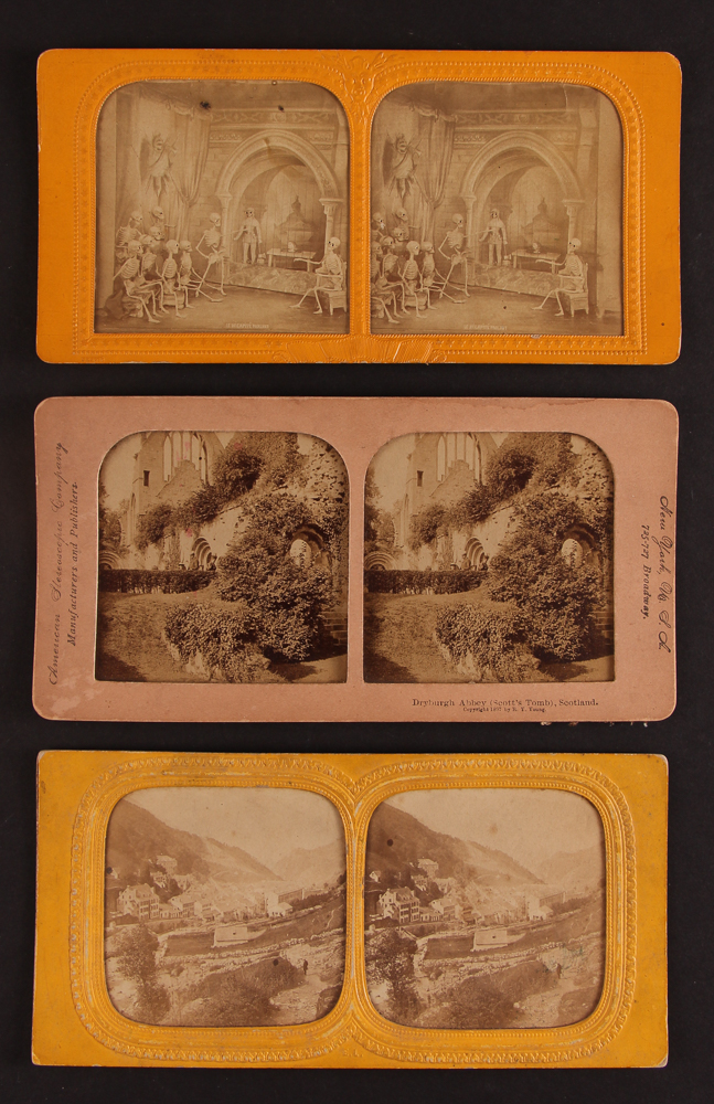 Devil Series Tissue Stereoview and Others