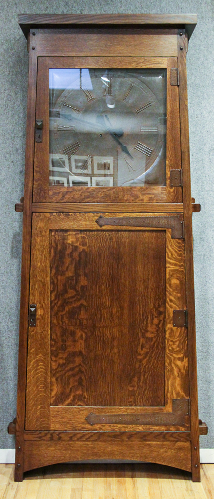 Stickley Made Grove Park Inn Roycoft Clock