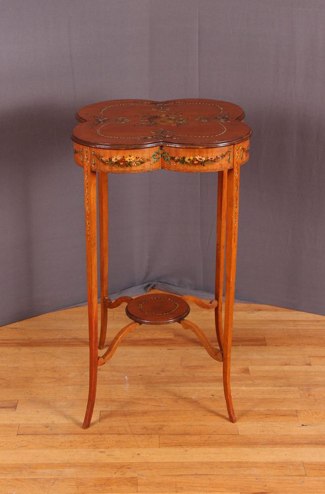 Italian or French Hand Painted Table