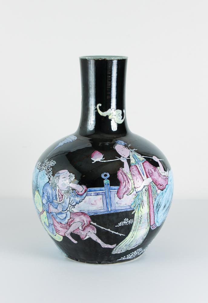 Chinese Guangxu Immortals Vase