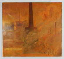 Jim Denney Power, 1987 oil painting