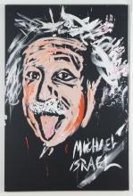 Michael Israel Einstein 2006 Performance Painting