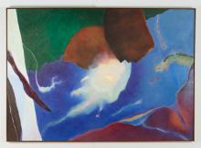 David Izu 80.G, 1980 oil painting
