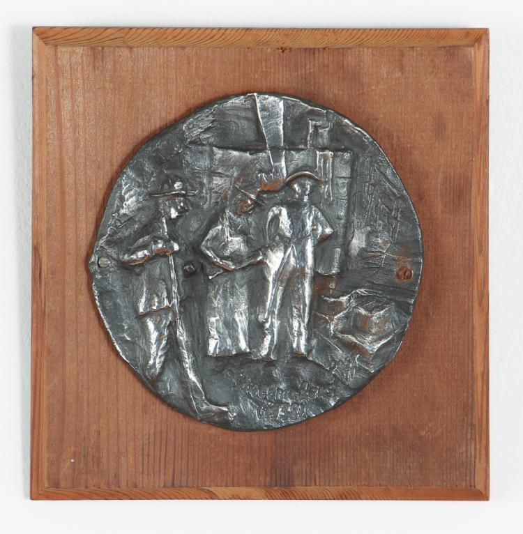 Steelmaker Roundel Sculpture