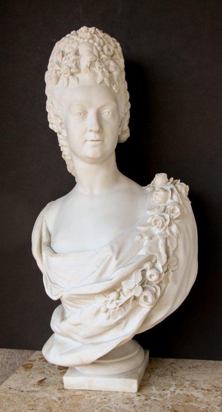 Marie Antoinette Sculpture After Houdon