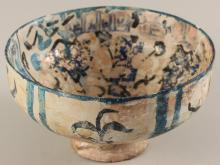 SULTANABAD ISLAMIC POTTERY BOWL