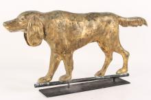 Washburn Attrib. Full Body Gilt Copper Weathervane