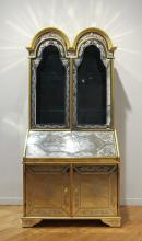 Venetian Mirrored Secretary Desk