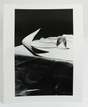 Ralph Gibson 1972 silver print Untiled (White Tablecloth Wind)