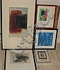 5 Assorted Paintings on Paper: Beaman, Burman, Barrie, Jenkins, Richard Bancroft Beaman, Click for value