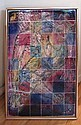 Virgil Cantini Falling Figure Enamel Painting, Virgil D. Cantini, Click for value
