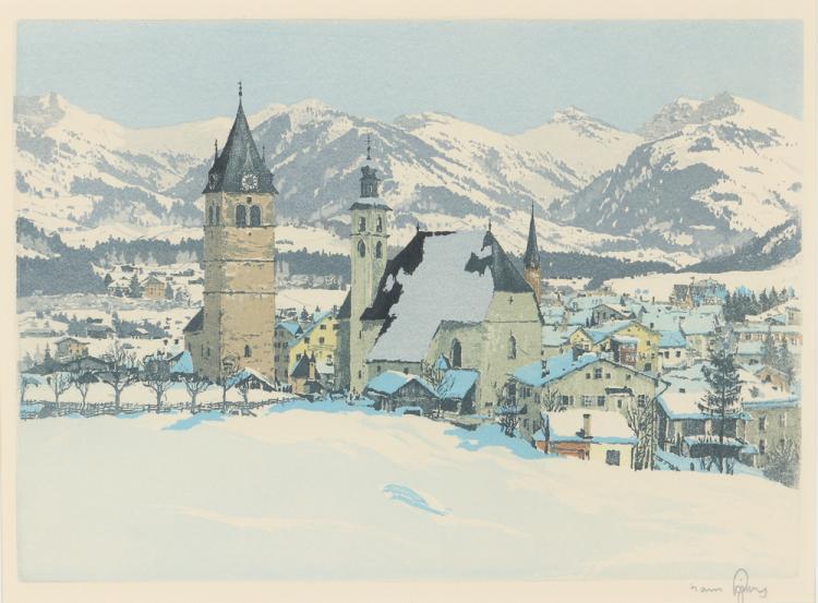 Mountain Village Concept Art