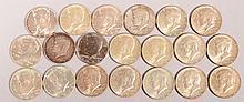 $10 Face 1964 Kennedy Halves 20 pcs