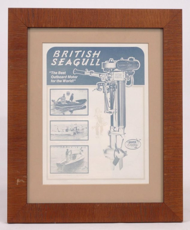 British Seagull Boat Motor Advertising