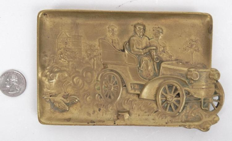 Brass Automobile Ashtray