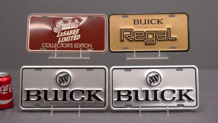 Buick Show Room Display License Plate Lot