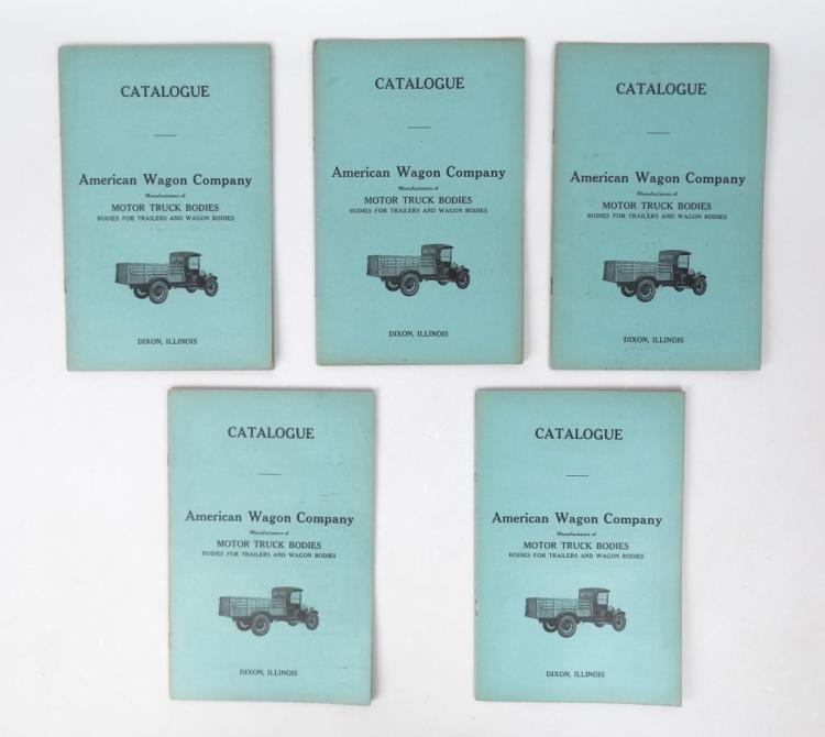 American Wagon Company Catalogs