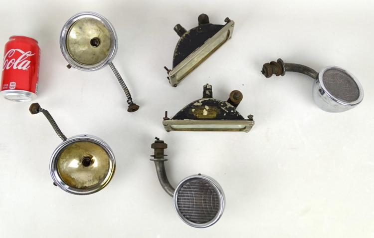 Antique Vehicle Lamp Lot
