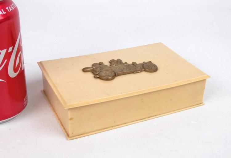 Celluloid Dresser Box
