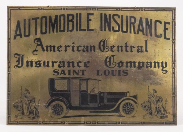 Automobile Insurance Sign
