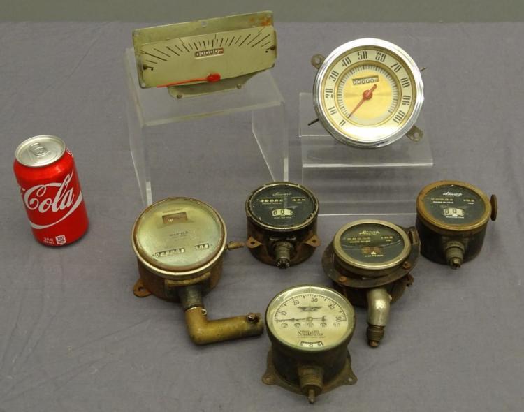 Antique Speedometer Lot