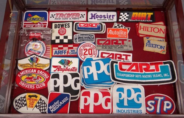 American Racing Sew On Patches