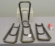 Four Model ?T? Ford Accessory Jack Stands