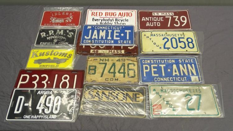 Antique Automotive Lot