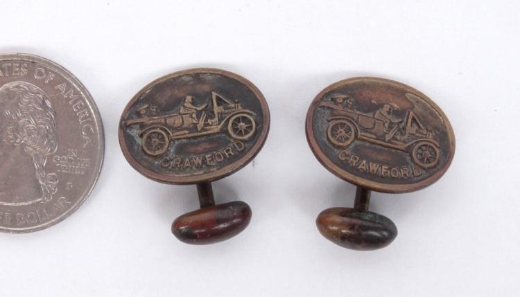 Crawford Automobile Cuff Links