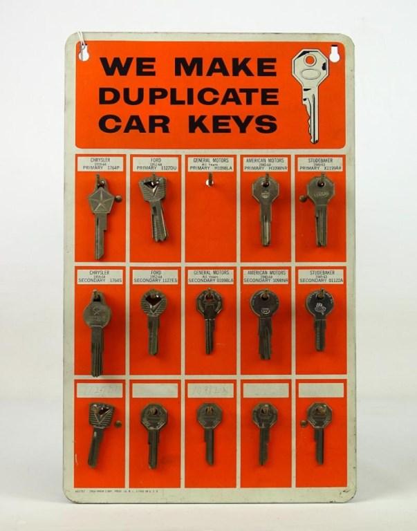 1940-1964 Automotive Key Board
