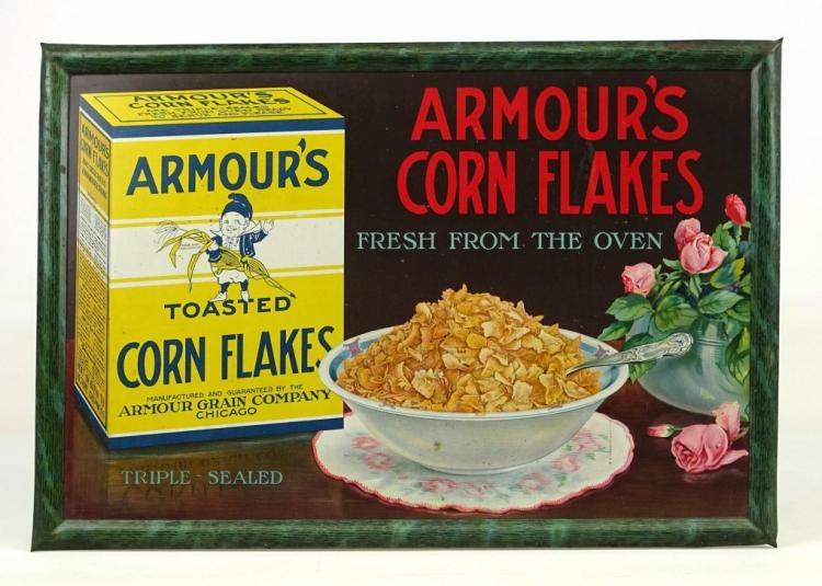 Armour's Corn Flakes Sign