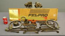 Model A Ford Parts and Ford Wrenches Lot